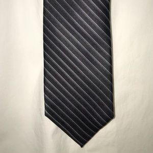 DKNY black and silver tie worn once